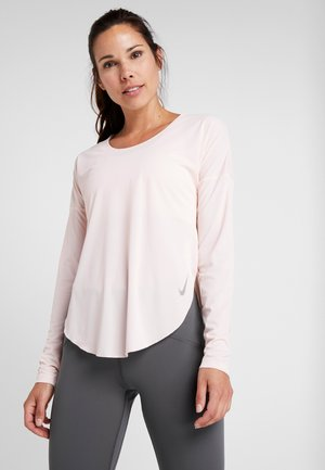 CITY SLEEK - T-shirt sportiva - echo pink/reflective silver