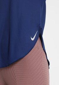 Nike Performance - CITY SLEEK - Treningsskjorter - blue void/silver - 3