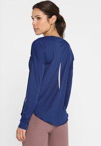 Nike Performance - CITY SLEEK - Treningsskjorter - blue void/silver - 2