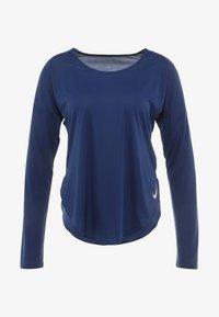 Nike Performance - CITY SLEEK - Treningsskjorter - blue void/silver - 6