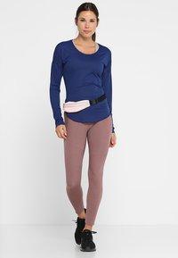 Nike Performance - CITY SLEEK - Treningsskjorter - blue void/silver - 1