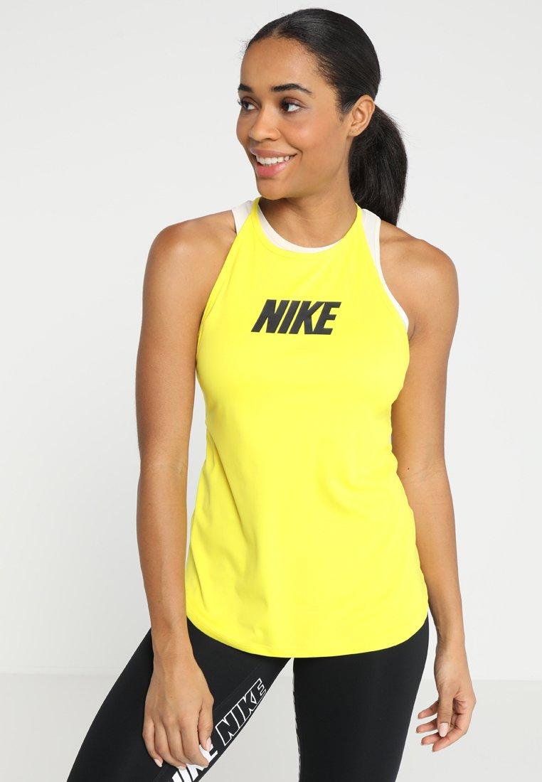 Nike Performance - ICON CLASH ELASTIKA GRAPHIC TANK - Funktionsshirt - opti yellow/black