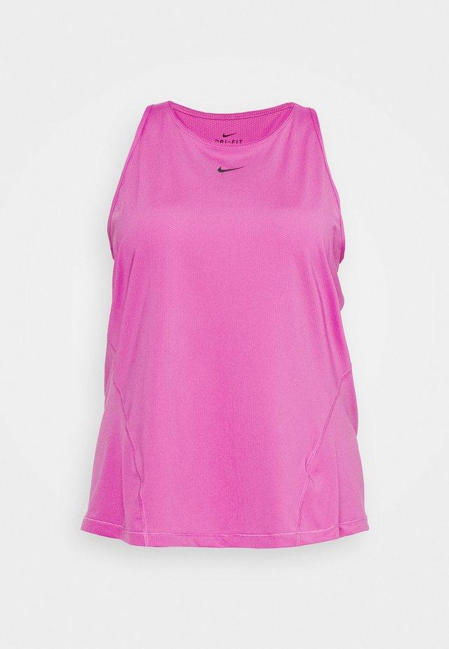 TANK ALL OVER PLUS - Camiseta de deporte - active fuchsia