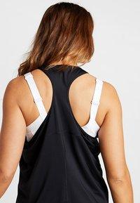 Nike Performance - TANK ALL OVER PLUS - Funktionstrøjer - black/white - 3