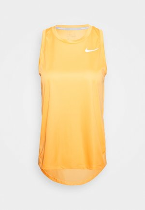MILER TANK - Sports shirt - topaz gold/reflective silver