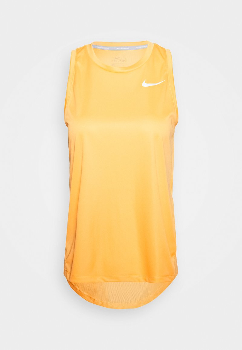 Nike Performance - MILER TANK - Camiseta de deporte - topaz gold/reflective silver