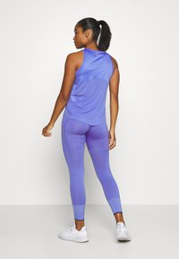 Nike Performance - MILER TANK - Sports shirt - sapphire/reflective silver - 2