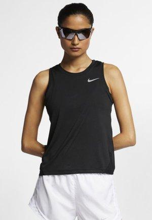 MILER TANK - Sportshirt - black