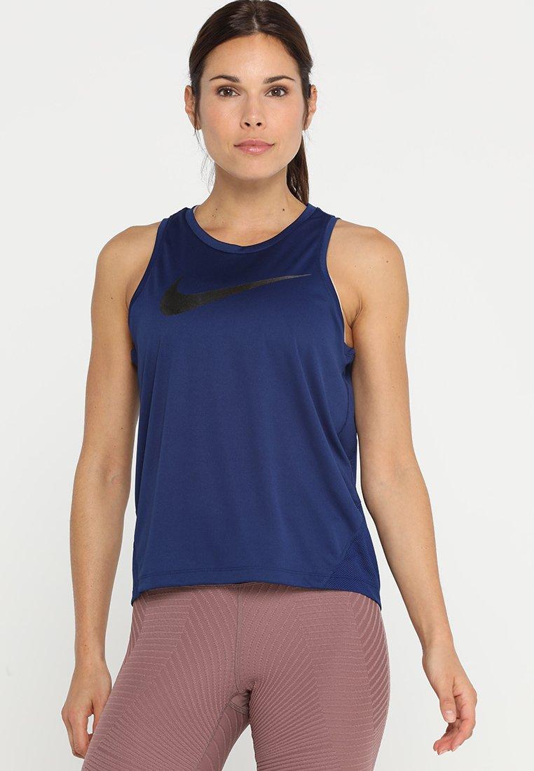 Nike Performance - MILER TANK - T-shirt de sport - blue void/silver