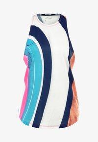 Nike Performance - ARTIST TANK GRAPHIC - T-shirt de sport - summit white/reflective silver - 5