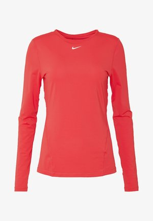 ALL OVER - Camiseta de deporte - track red/white