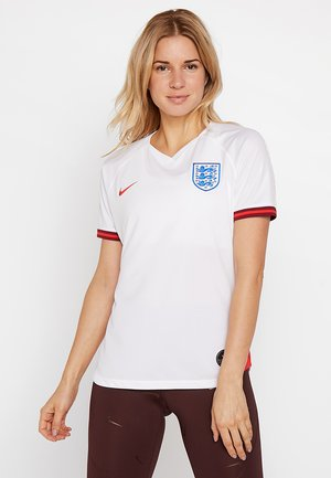 ENT ENGLAND HOME - National team wear - white/challenge red