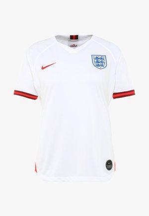 ENT ENGLAND HOME - Equipación de selecciones - white/challenge red