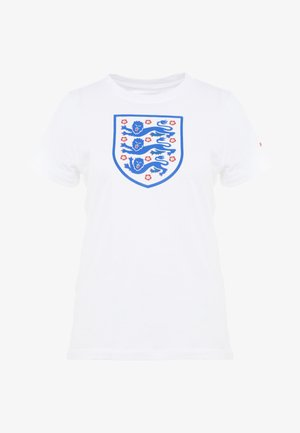 ENT ENGLAND TEE EVERGREEN CREST - Oblečení národního týmu - white
