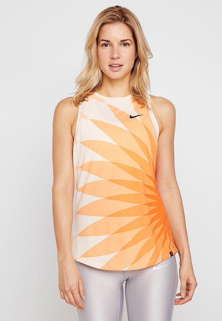 Nike Performance - KNVB NIEDERLANDE TANK PRESEASON - Toppi - orange quartz