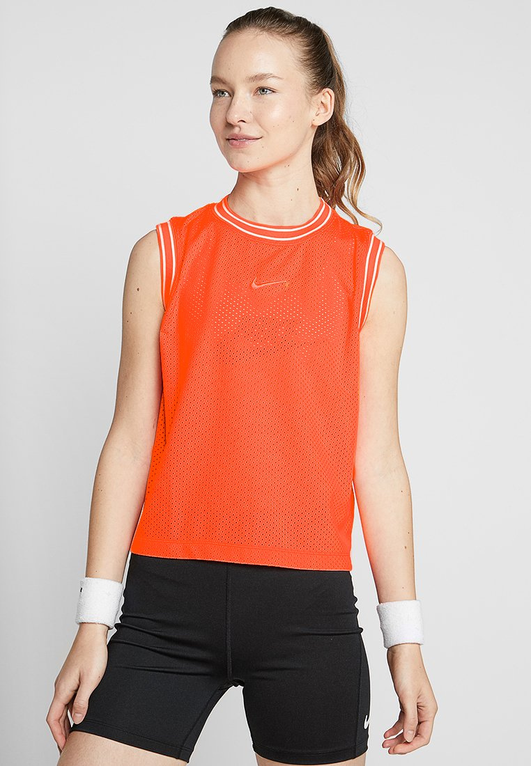 Nike Performance - TANK - Top - orange pulse