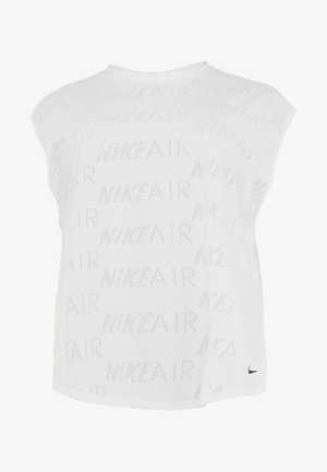 AIR PLUS - T-shirt basic - white/black