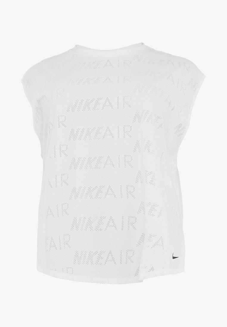 Nike Performance - AIR PLUS - T-Shirt basic - white/black
