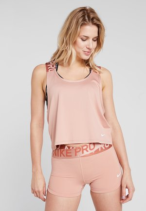 INTERTWIST - T-shirt de sport - rose gold/white