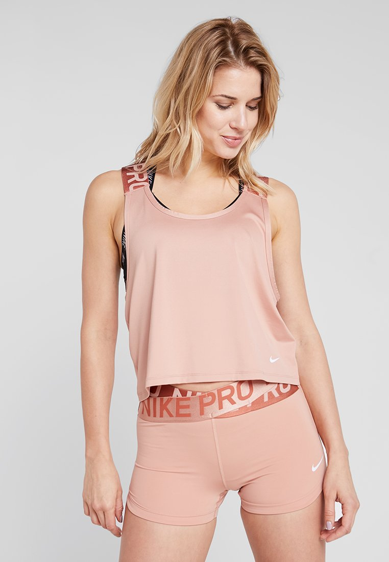 Nike Performance - INTERTWIST - Funktionsshirt - rose gold/white