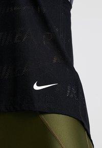 Nike Performance - TANK AIR - Toppe - black/white - 5