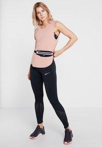 Nike Performance - CITY SLEEK TANK COOL - Camiseta de deporte - rose gold/reflective silver - 1