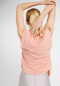 Nike Performance - CITY SLEEK TANK COOL - T-shirt sportiva - pink quartz/silver - 4