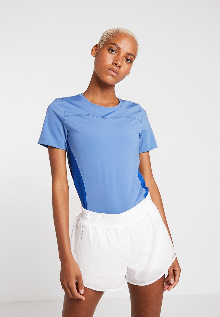 Nike Performance - T-Shirt print - indigo storm/indigo force/cyber