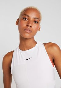 Nike Performance - TANK - Top - vast grey/white/black