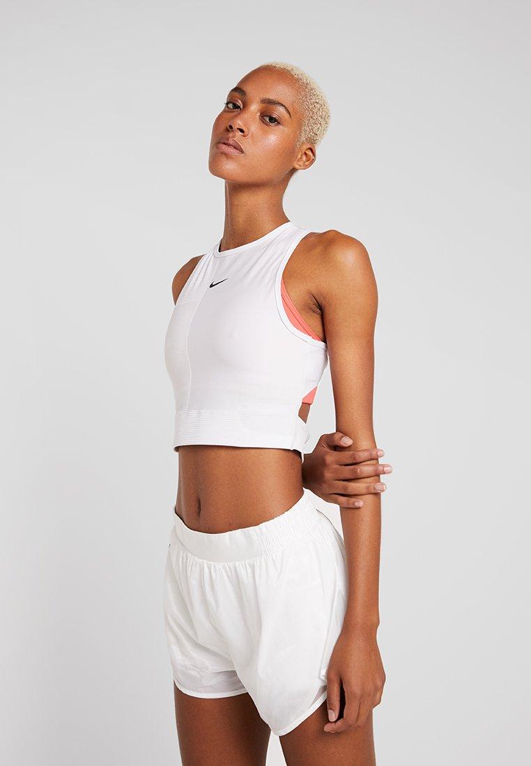 Nike Performance - TANK - Top - vast grey/white/black