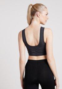 Nike Performance - TANK - Topper - oil grey/black - 2