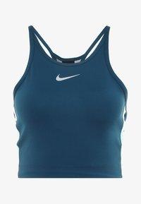 Nike Performance - CROP TANK SURF - T-shirt sportiva - nightshade tropical twist - 5