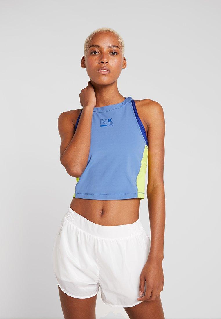 Nike Performance - TANK - T-shirt sportiva - indigo storm/cyber/indigo force