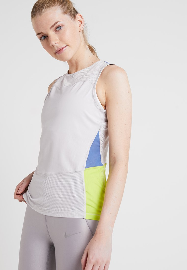Nike Performance - TANK - Funktionsshirt - vast grey/indigo storm/cyber/clear