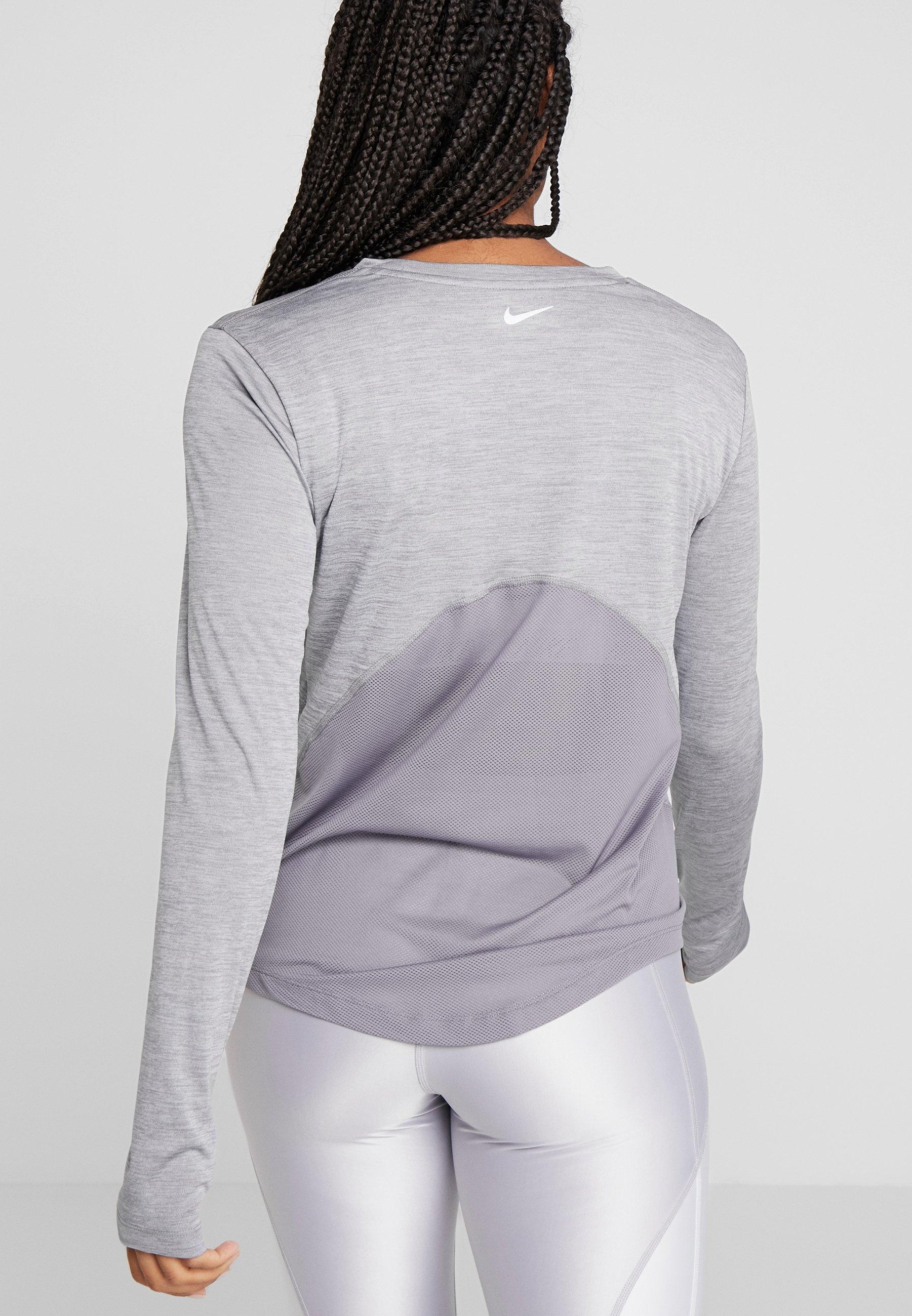 Sport MilerT heather Performance shirt De silver Nike Gunsmoke dCxEroeWQB
