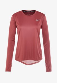 Nike Performance - MILER TOP - Sports shirt - cedar/reflective silver - 3
