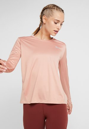 MILER TOP - Funktionströja - rose gold/reflective silver