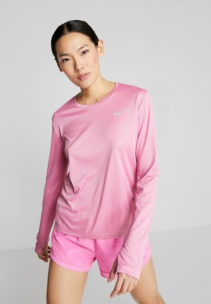 MILER TOP - Sports shirt - magic flamingo/reflective silver