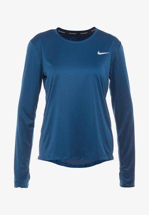 MILER TOP - Sportshirt - valerian blue/reflective silver