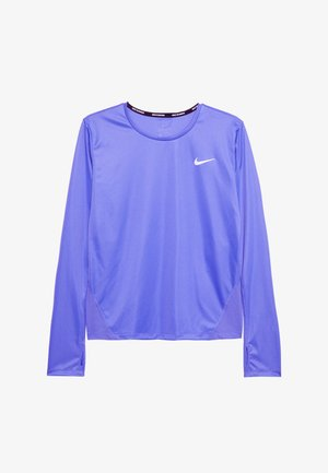 MILER TOP - Sports shirt - sapphire/reflective silver