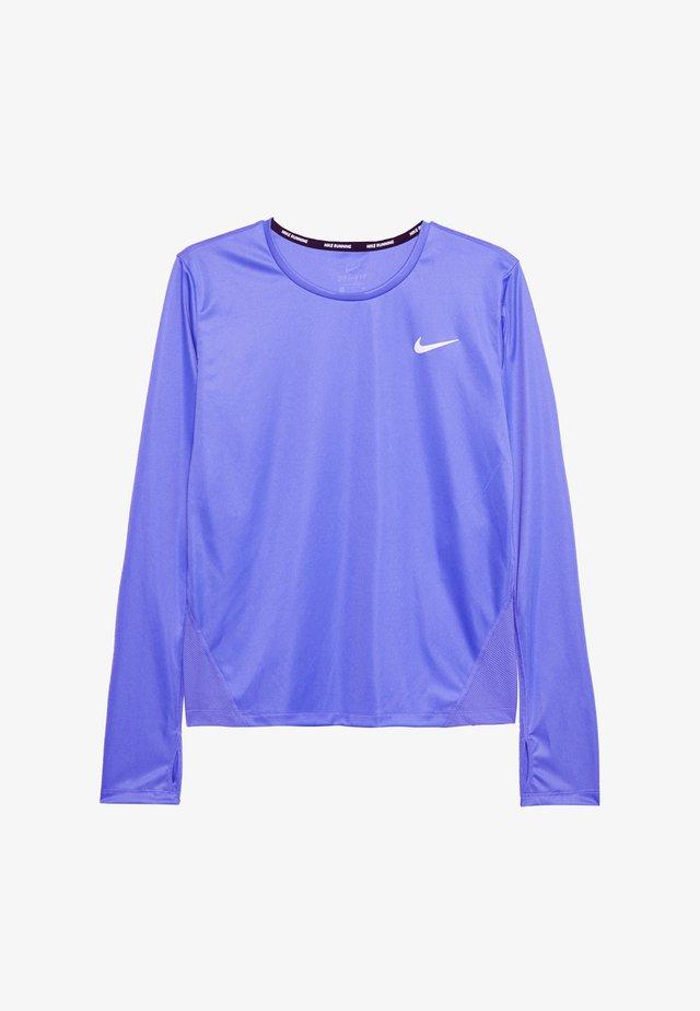 MILER TOP - Sports shirt - sapphire/reflective silver