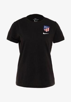 ATLETICO MADRID TEE EVERGREEN CREST - Klubové oblečení - black