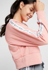 Nike Performance - DRY GET FIT  - Sweatshirt - pink quartz/black - 3