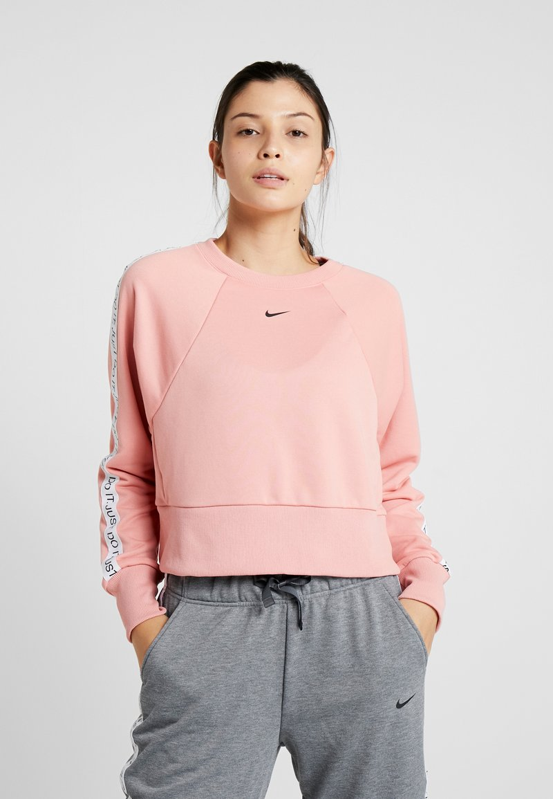 Nike Performance - DRY GET FIT  - Sweatshirt - pink quartz/black