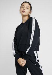 Nike Performance - DRY GET FIT  - Sweatshirt - black/white - 0