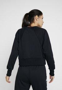 Nike Performance - DRY GET FIT  - Sweatshirt - black/white - 2