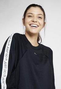 Nike Performance - DRY GET FIT  - Sweatshirt - black/white - 3