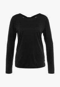 Nike Performance - DRY ELASTIKA - Funkční triko - black/white - 3
