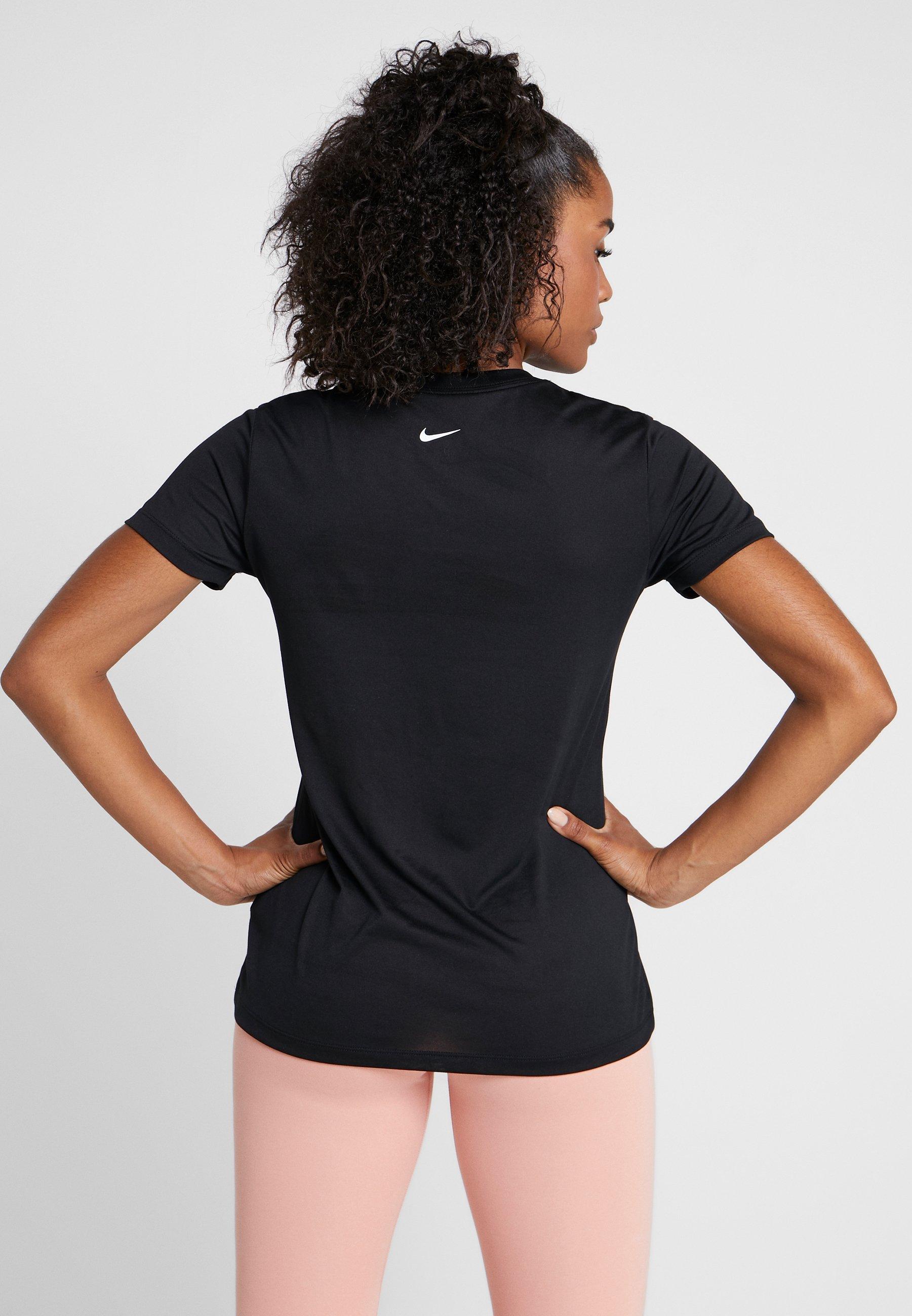 shirt Dry CrewT Rebel Imprimé Nike Performance Tee Black white Leg GpzqSUMV
