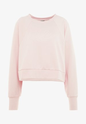 ALL IN PLUS - Sweatshirt - echo pink/white